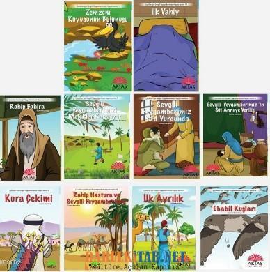 Çocuklar İçin Sevgili Peygamberimizin Hayatı Serisi-Mekke Dönemi (10 K